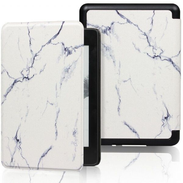 Kindle Smart Case Cover Marble
